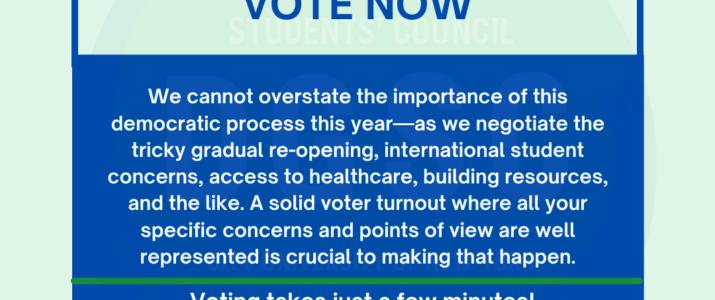 DGSC 2021-22 Elections Ballots Open April 1 – May 3